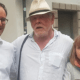 Nick Nolte con sua figlia e Ulrich Seitz